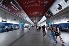 Station för BTS Siam Arkivfoton