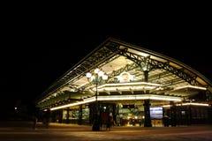 station för disney nattplatser Fotografering för Bildbyråer