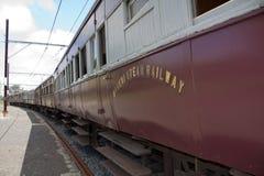 Station för drev för Nottingham väg gammal Royaltyfria Bilder