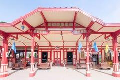 station för hinhua järnväg Royaltyfri Fotografi