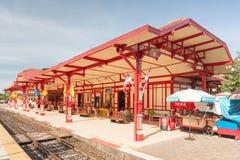 station för hinhua järnväg Arkivfoton