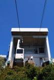 Station för kabelbil, Gibraltar Royaltyfria Bilder