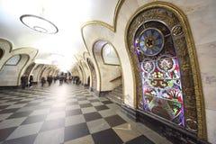 station för national för arkitekturmetromonument Royaltyfria Bilder