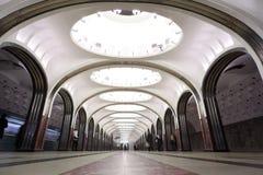 station för national för arkitekturmetromonument Fotografering för Bildbyråer