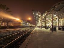Station för nattplatsdrev Royaltyfri Foto