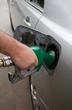 station för petrol för påfyllningsgas Arkivfoton