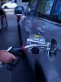 station för petrol för påfyllningsgas Royaltyfri Bild