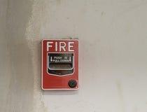 Station för pull för brandalarm manuell fotografering för bildbyråer