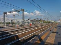 Station för RhoFiera drev Arkivbilder