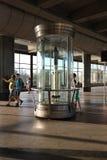 Station för sparvkulletunnelbana, Moskva Arkivbild