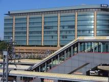 Station för Stamford Tunnelbana-nord järnväg Arkivbilder