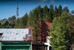 Station för kabelbil Fotografering för Bildbyråer