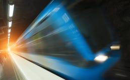 Station för Stockholm tunnelbanadrev Arkivfoton