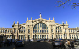 Station Gare du Nord Stock Photography