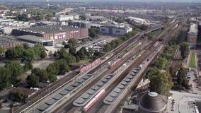 Station Gebieds stock video