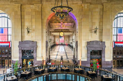 Station Hall grand des syndicats image stock