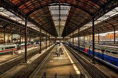 Station HDR de Bâle Photographie stock libre de droits