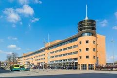 Station in Hilversum, Nederland Stock Foto's
