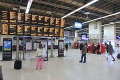 Station i Birmingham UK Royaltyfria Foton