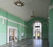 Station Kiev-Moscou de Hall sur les périphéries de Kiev, Ukraine Photo libre de droits