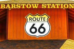 Station la Californie de Barstow photos stock
