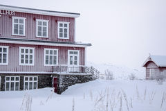 Station in Lapland Royalty-vrije Stock Afbeelding