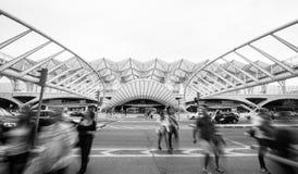 Station 2 Lisbona Oriente Stockfotografie