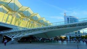 Station Lissabon Portugals Oriente Stockbilder