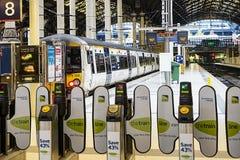Station Londons Paddington Stockbild