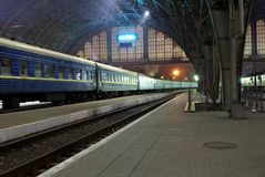 Station Lvov Royalty Free Stock Photo
