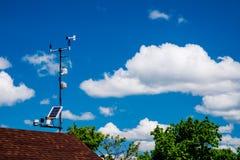 Station météorologique horizontale Photo libre de droits