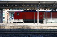 Station Mainz Stock Photo