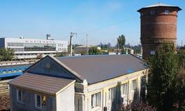 Station in Mariupol stock foto's