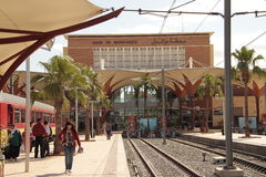 Station in Marrakech Stock Photography