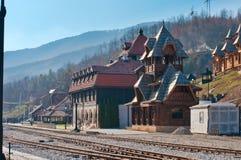 Station Mokra Gora Stockfotos