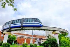 Station monorail Timiryazevskaya, Moscow, Russia Royalty Free Stock Photos