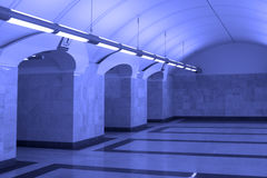 Station of Moscow metro Royalty Free Stock Image
