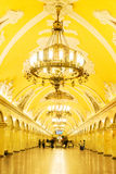 Station of Moscow metro Royalty Free Stock Images