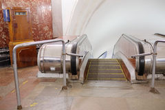 Station of the Moscow metro station Krasnye Vorota Stock Photos