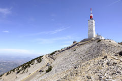 Station of Mount Ventoux Royalty Free Stock Images