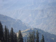 Station Pakistan de colline de Shogran Photos libres de droits