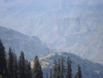 Station Pakistan de colline de Shogran Photos libres de droits