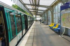 Station Paris Metropolitain Lizenzfreies Stockbild