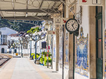 Station in Pinhao, Portugal royalty-vrije stock afbeelding