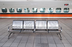 Station platforms Royalty Free Stock Photography