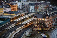 Station principale Image libre de droits