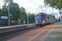 Station in Puszczykowo, Polen Stock Foto's