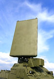 Station radar mobile du contrôle de l'espace aérien Photo libre de droits