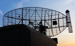 Station radar mobile militaire Image libre de droits