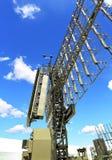 Station radar ou contrôle de l'espace aérien Photos stock